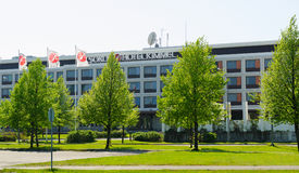 Hotel Kimmel, Joensuu, Finlandia di creste di gallo Immagine Stock Libera da Diritti