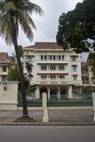 Hotel Koninklijk in Pnom Penh Stock Afbeeldingen