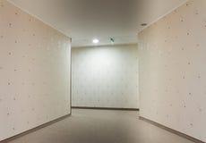 Hotel-Korridor stockbild