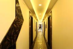 Hotel-Korridor Lizenzfreie Stockfotos