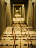 Hotel-Korridor Stockfotografie