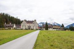 Hotel Kranzbach Royalty Free Stock Photos