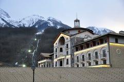 Hotel in Krasnaya Polyana, Sochi Royalty Free Stock Photo