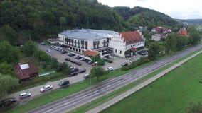 Hotel Krol Kazimierz, 04 2016, Polônia, vista aérea filme