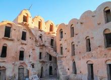 Hotel Ksar Hadada, Tataouine, Tunesien stockfotos