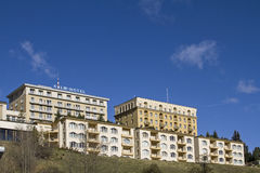 Hotel Kulm Stock Image