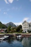 Hotel Kviknes stock afbeeldingen