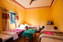 Hotel, Lakeside, Pokhara, Nepal Immagine Stock Libera da Diritti