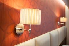 Hotel lamp Stock Photos