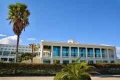 Hotel Las Arenas on Malvarrosa beach in Valencia Royalty Free Stock Images