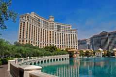 Hotel Las Vegas de Bellagio Fotografia de Stock Royalty Free