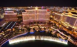 Hotel Las Vegas di Bellagio Fotografia Stock Libera da Diritti