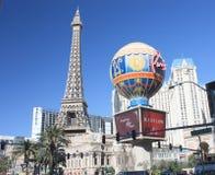 Hotel Las Vegas di Parigi Immagini Stock Libere da Diritti