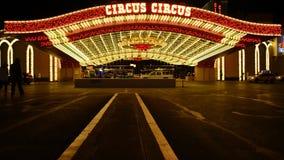 Hotel Las Vegas do circo do circo vídeos de arquivo