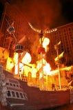 Hotel Las Vegas do console do tesouro Fotografia de Stock