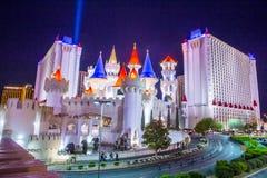 Hotel Las Vegass Excalibur stockfoto