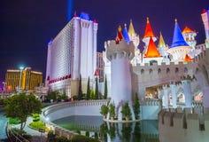 Hotel Las Vegass Excalibur lizenzfreies stockfoto