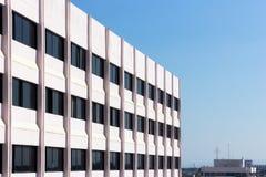 Hotel laterale della costruzione Fotografia Stock