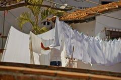 Hotel Laundry Stock Photo