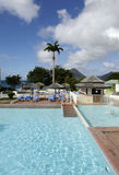 Hotel in Le Diamant in Martinique Royalty Free Stock Photo