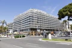 Hotel Le Meridien in Nizza, Frankreich Stockfotografie
