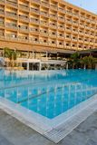 Hotel in Limassol Stock Photo