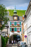 Hotel Lindenwirt, Ruedesheim, Rheinland-Pfalz. Hotel Lindenwirt in Ruedesheim in Rheinland-Pfalz, Germany Royalty Free Stock Image