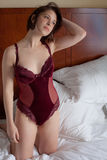 Hotel and Lingerie Royalty Free Stock Photo