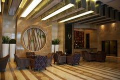 Hotel lobby Royalty Free Stock Photography