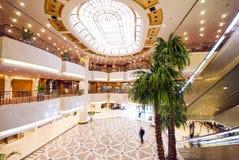 Hotel lobby. This luxury hotel bright lobby Royalty Free Stock Photo