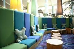 Hotel Lobby. Interior of an anonymous hotel lobby in Whitsunday, australia Stock Photos