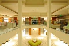 Hotel Lobby. Modern hotel lobby with open floors Royalty Free Stock Photos