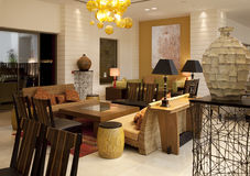 Hotel Lobby Royalty Free Stock Image