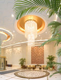 Hotel lobby. The lobby of the luxury hotel Royalty Free Stock Photo
