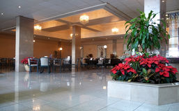 Hotel lobby Royalty Free Stock Images