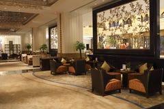 Hotel lobby bar Stock Photo