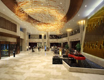 The hotel lobby Royalty Free Stock Images