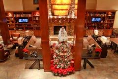 Hotel Lobby: Christmas Royalty Free Stock Photo
