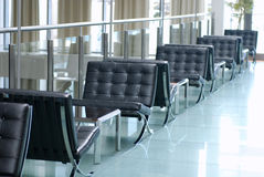 Hotel lobby in contemporary style Stock Image