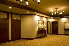 Hotel lobby corridor Stock Photos