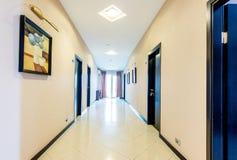The hotel lobby corridor with modern design Stock Image