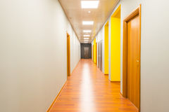 The hotel lobby corridor with modern design Royalty Free Stock Photo