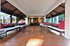 Hotel lobby corridor Stock Image