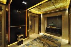 Hotel lobby and Elevator