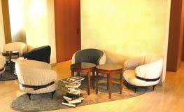 Hotel lobby. The environment of lobby in a hotel Stock Photos