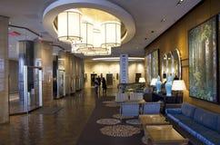 Hotel lobby of Four Seasons Vancouver Royalty Free Stock Photos