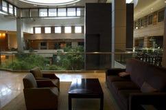 Hotel lobby of Grand Hyatt Bellevue Stock Images
