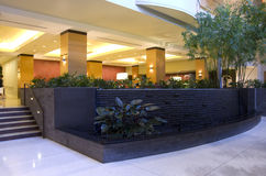 Hotel lobby of Grand Hyatt Bellevue Royalty Free Stock Image
