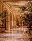 Hotel lobby interior Stock Photos