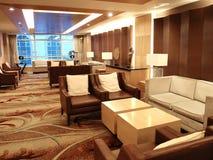 Hotel lobby interior Stock Image
